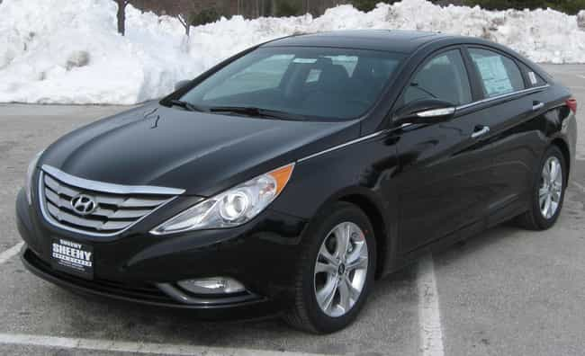 Hyundai Sonata is listed (or ranked) 2 on the list Full List of Hyundai Models
