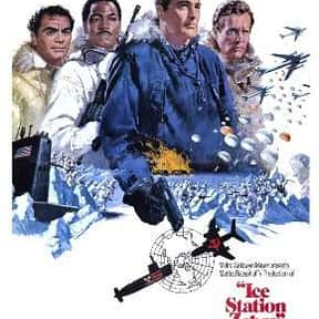 Ice Station Zebra is listed (or ranked) 14 on the list The Best Spy Movies of the 1960s