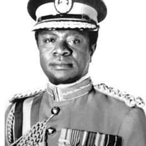 Ignatius Kutu Acheampong is listed (or ranked) 5 on the list Famous People From Ghana