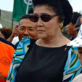 Imelda Marcos is listed (or ranked) 2 on the list Famous People From Philippines