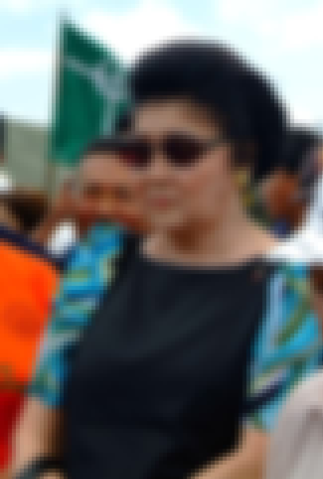 Imelda Marcos is listed (or ranked) 2 on the list Members of the Marcos Family