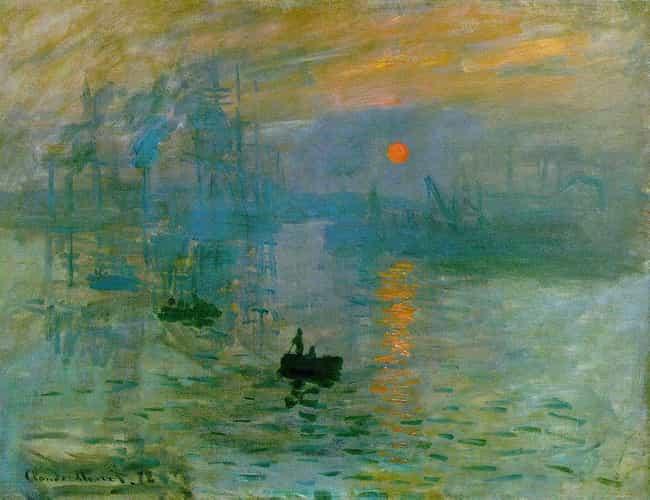 Impression, Sunrise is listed (or ranked) 4 on the list Famous Marine Arts by Claude Monet