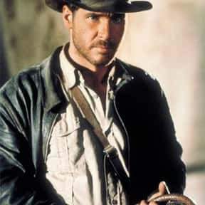 Indiana Jones is listed (or ranked) 1 on the list Movie Tough Guys Without Super Powers or a Super Suit