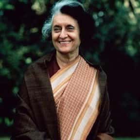 Indira Gandhi is listed (or ranked) 18 on the list Famous University Of Oxford Alumni