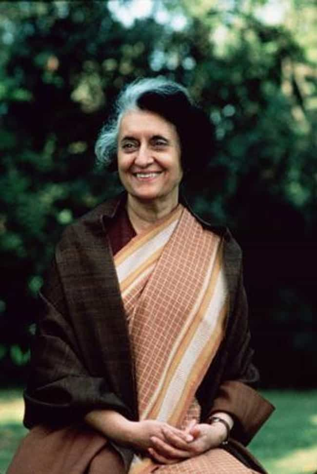 Indira Gandhi is listed (or ranked) 3 on the list List of Famous Prime Ministers