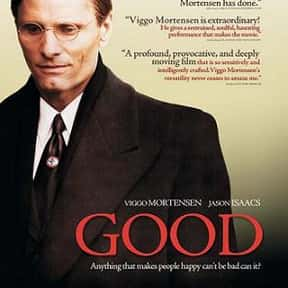 Good is listed (or ranked) 24 on the list The Best Movies With Good in the Title