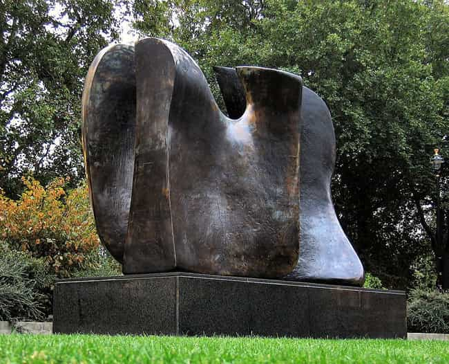 Knife Edge - Two Piece ... is listed (or ranked) 4 on the list Famous Henry Moore Sculptures