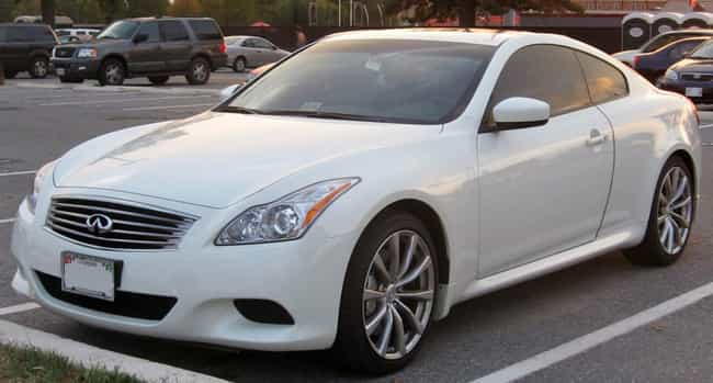 infiniti g37 is listed or ranked 3 on the list full list of infiniti