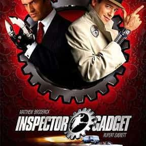 Inspector Gadget is listed (or ranked) 19 on the list The Best Superhero Movies of the '90s