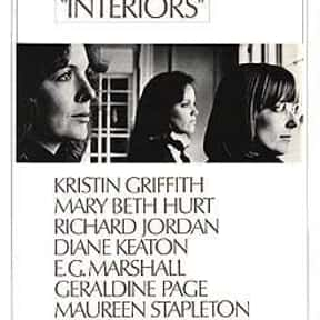 Interiors is listed (or ranked) 10 on the list The Best Movies Without Soundtracks