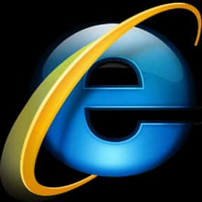 Internet Explorer is listed (or ranked) 9 on the list The Best Internet Browsers