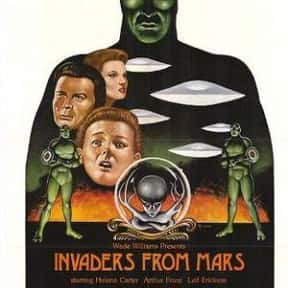 Invaders from Mars is listed (or ranked) 18 on the list The Best Sci-Fi Movies of the 1950s