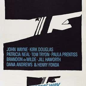 In Harm's Way is listed (or ranked) 10 on the list The Best Kirk Douglas Movies