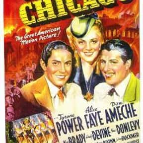 In Old Chicago is listed (or ranked) 20 on the list The Best '30s Romance Movies