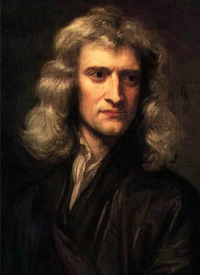 Isaac Newton is listed (or ranked) 4 on the list 30 Things People Had Achieved by Age 30