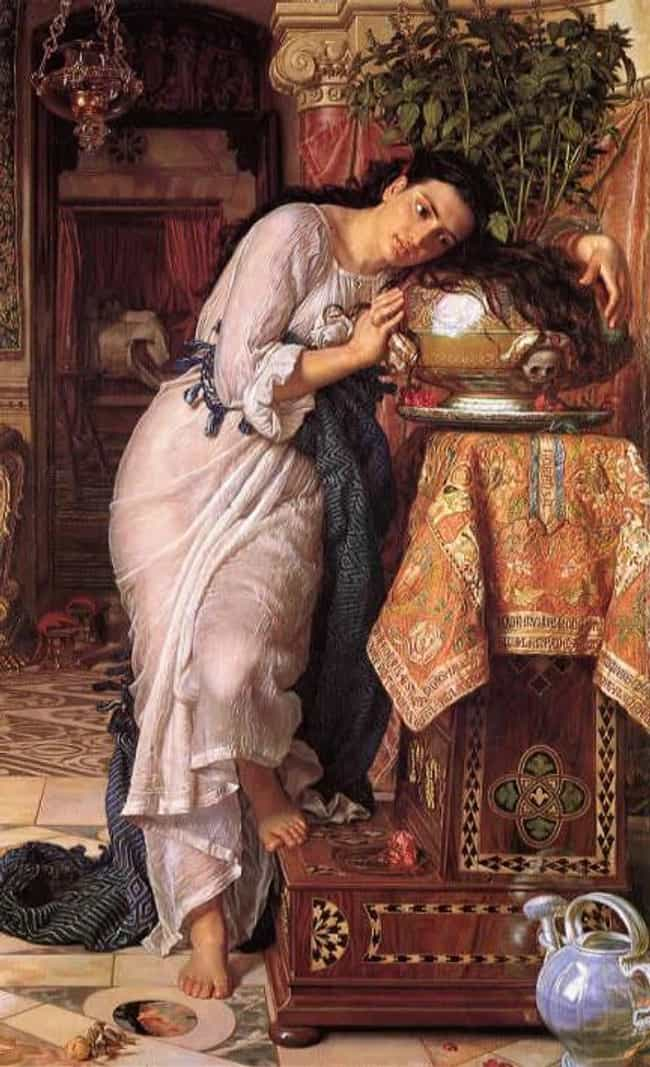 Isabella and the Pot of ... is listed (or ranked) 3 on the list Famous William Holman Hunt Paintings
