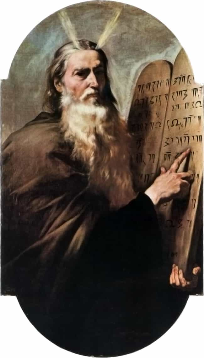 Moses is listed (or ranked) 2 on the list Famous Historical Figures Who Were Probably More Than One Person