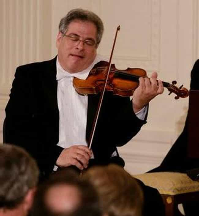 Itzhak Perlman is listed (or ranked) 7 on the list Famous Male Violinists
