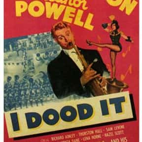 I Dood It is listed (or ranked) 23 on the list The Best Red Skelton Movies