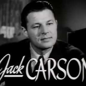 Jack Carson is listed (or ranked) 11 on the list Stage Door Cast List