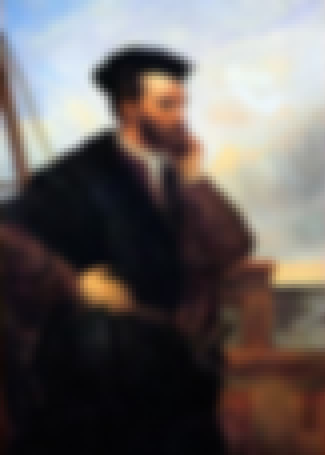 Jacques Cartier is listed (or ranked) 4 on the list Famous Male Navigators