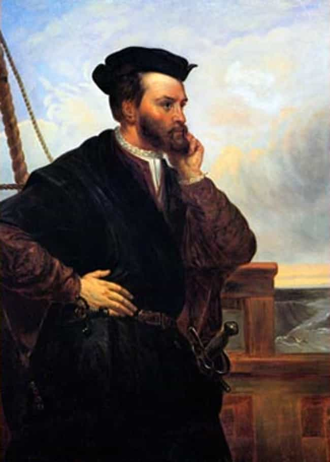 Jacques Cartier is listed (or ranked) 4 on the list Famous Explorers from France