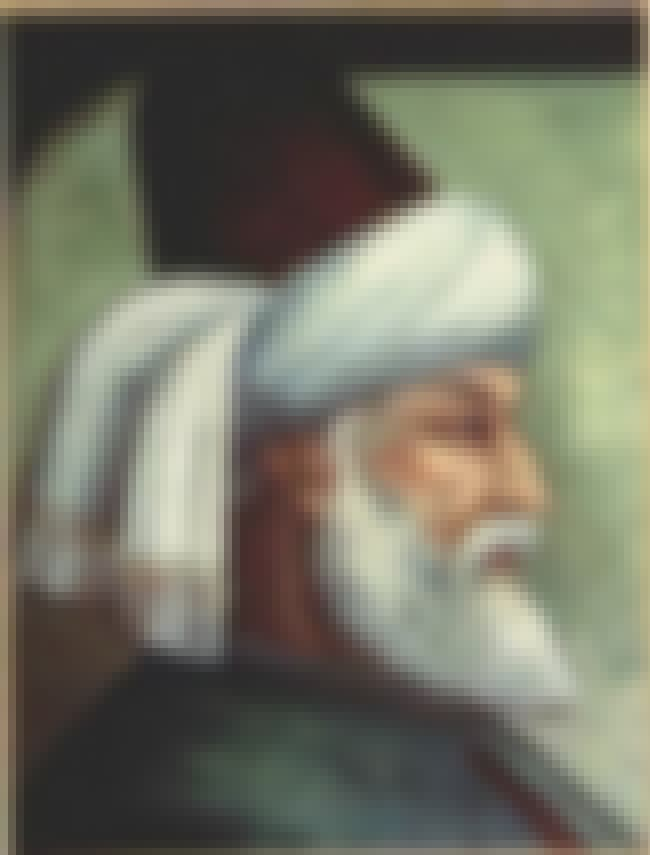 Jalal ad-Din Muhammad Rumi is listed (or ranked) 3 on the list Mystics of Major Historical Importance