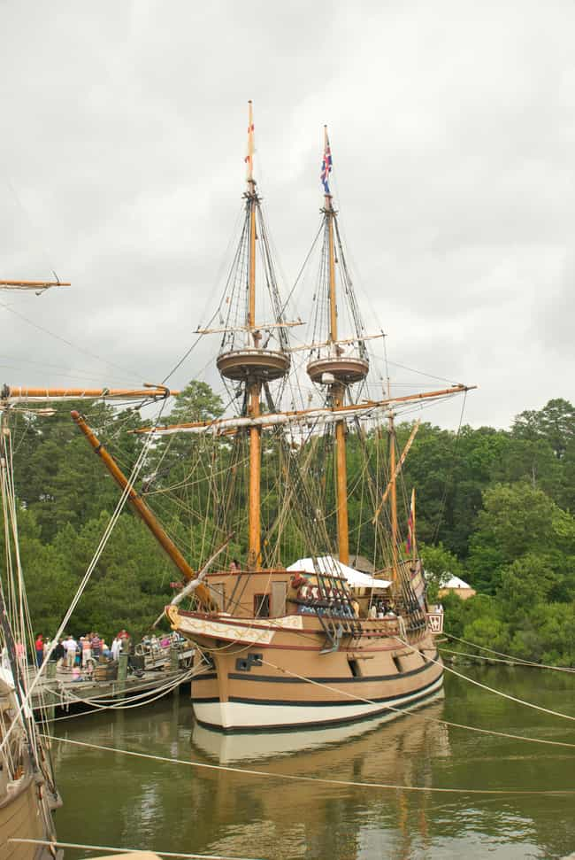 Jamestown is listed (or ranked) 2 on the list The Coolest Places to Visit from Colonial America