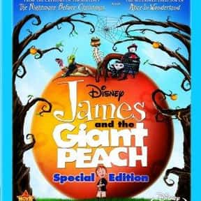 James and the Giant Peach is listed (or ranked) 16 on the list The Best Fantasy Movies for 8 Year Old Kids