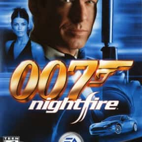James Bond 007: Nightfire is listed (or ranked) 2 on the list The Best James Bond Games