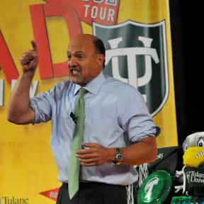 Jim Cramer is listed (or ranked) 17 on the list The Most Trustworthy Newscasters on TV Today