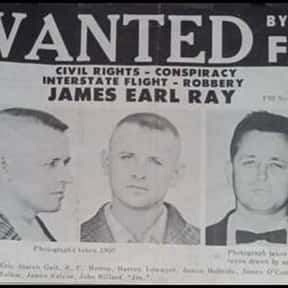 James Earl Ray is listed (or ranked) 19 on the list Famous People Who Died in Tennessee