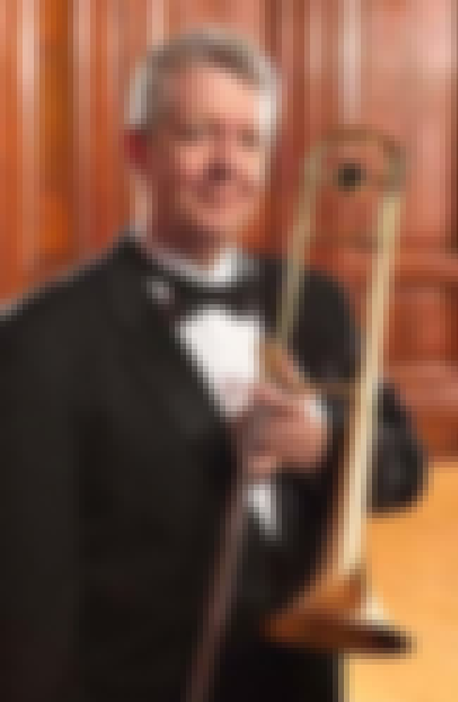 James E. Pugh is listed (or ranked) 5 on the list List of Famous Trombonists