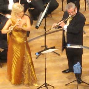 James Galway is listed (or ranked) 13 on the list List of Famous Flautists
