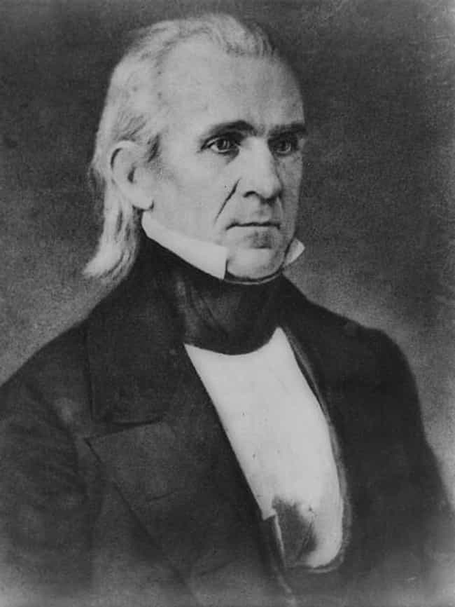 James K. Polk is listed (or ranked) 4 on the list US Presidents Who Were Freemasons
