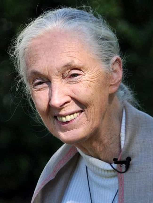 Jane Goodall is listed (or ranked) 3 on the list Hubbard Medal Winners List