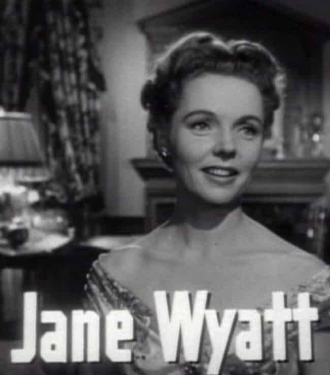 Jane Wyatt is listed (or ranked) 4 on the list Famous The Chapin School Alumni