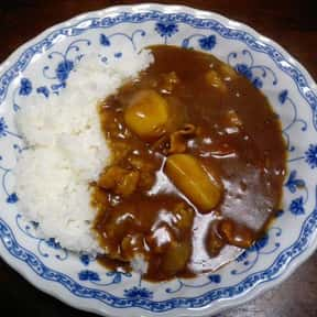Japanese curry is listed (or ranked) 12 on the list The Best Types of Japanese Food