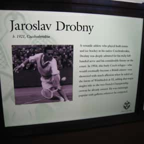 Jaroslav Drobný is listed (or ranked) 17 on the list The Best Men's Tennis Players of the 1950s