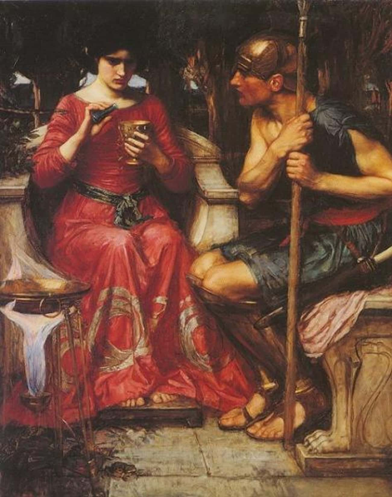 Jason and Medea is listed (or ranked) 1 on the list Famous Medea Art