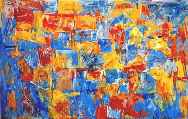 Jasper Johns Is Listed Or Ranked 4 On The List Best Pop Art