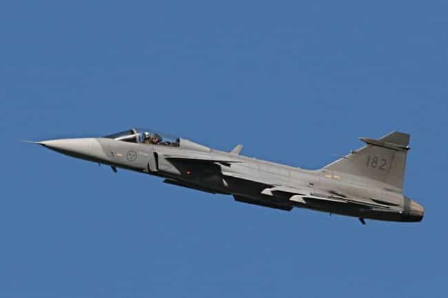 Saab JAS 39 Gripen is listed (or ranked) 3 on the list Saab Aircraft Types