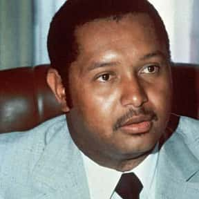 Jean-Claude Duvalier is listed (or ranked) 24 on the list List of Famous Dictators