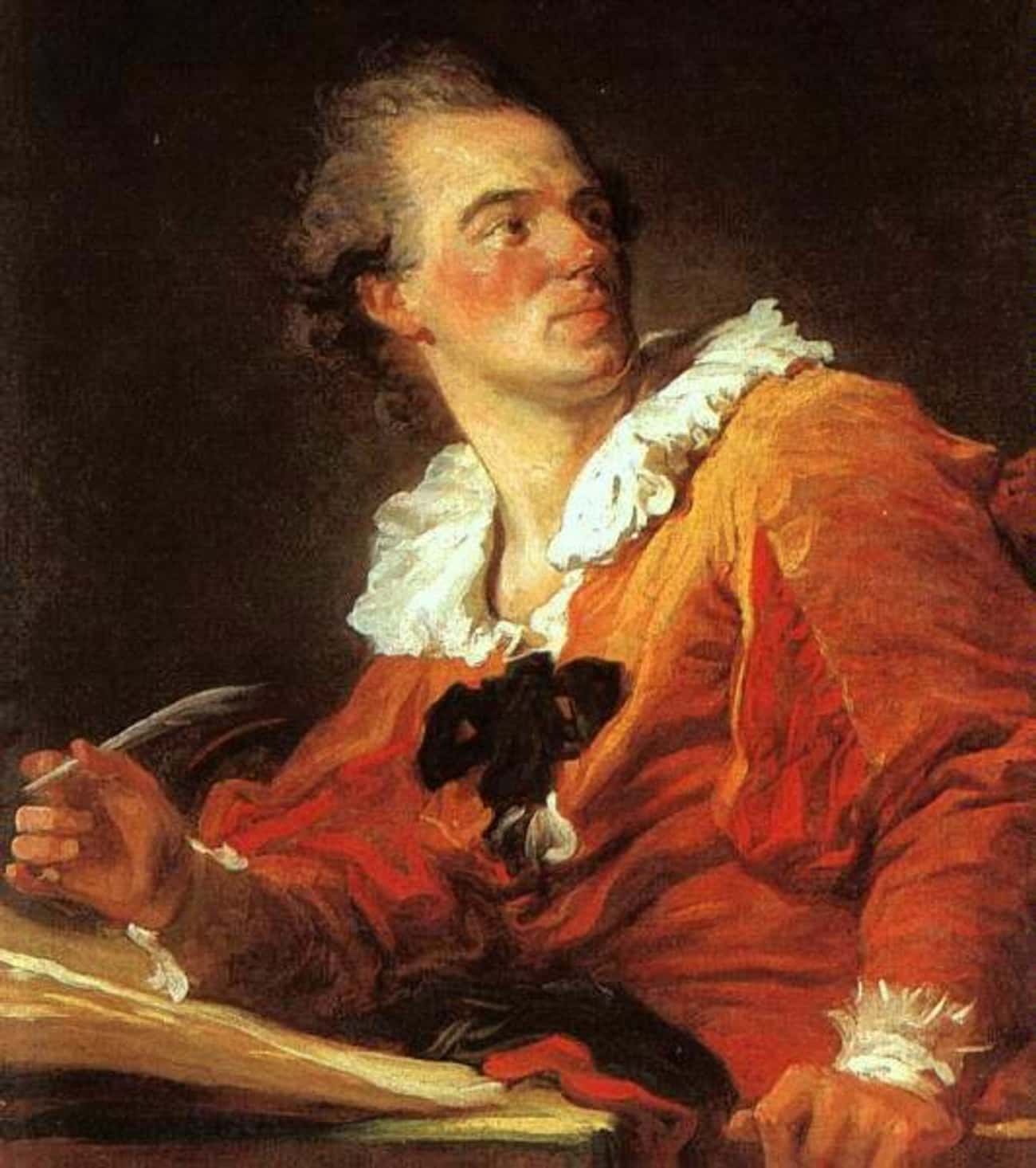 Jean-Honoré Fragonard is listed (or ranked) 1 on the list Famous Rococo Artists