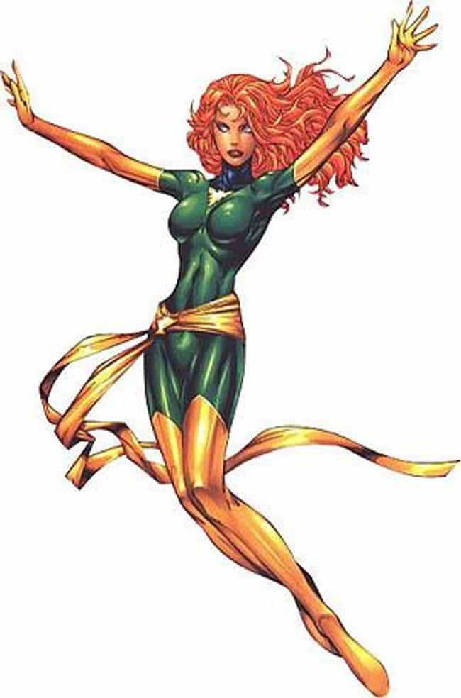 Jean Grey is listed (or ranked) 2 on the list The 20 Most Powerful Telepaths, Ranked