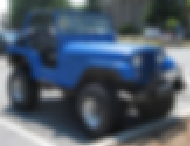 Jeep CJ is listed (or ranked) 7 on the list Full List of Jeep Models