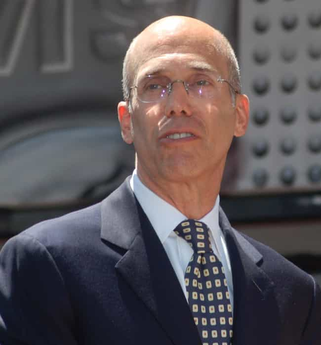Jeffrey Katzenberg is listed (or ranked) 4 on the list Famous Friends of David Geffen