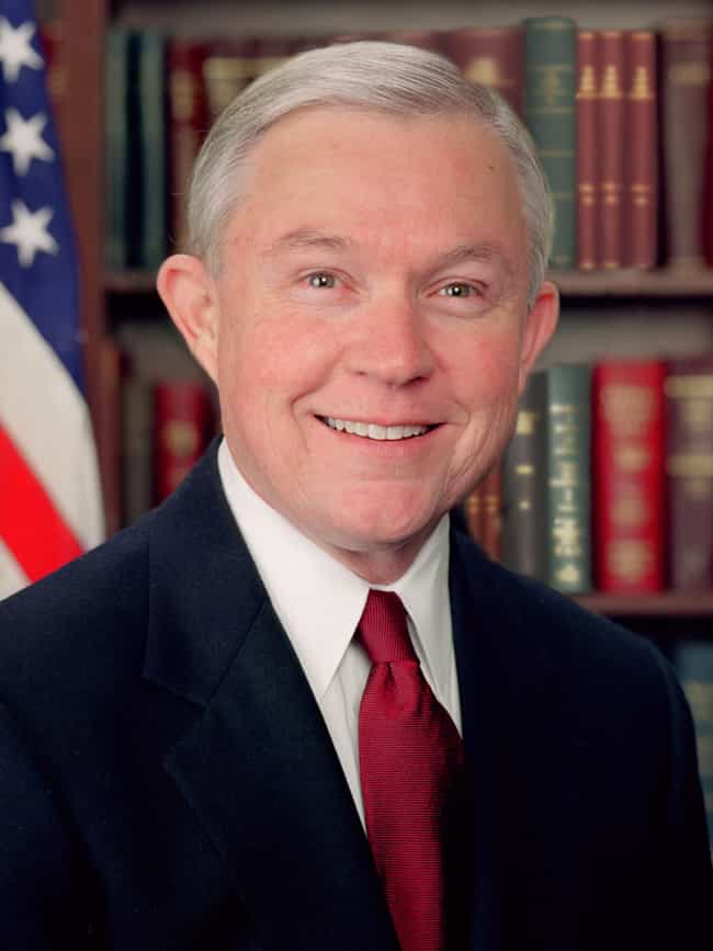 Jeff Sessions is listed (or ranked) 2 on the list Politicians Who Have Blamed Victims During National Tragedies