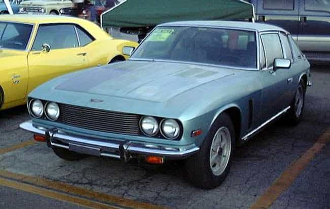 Jensen Interceptor is listed (or ranked) 1 on the list Full List of Jensen Motors Models