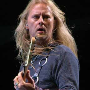 Jerry Cantrell is listed (or ranked) 15 on the list Famous People Named Jerry